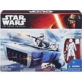 Primera Orden Snowspeeder Snowtrooper–Star Wars Fuerza Awakens vehículo figura de acción Set de juguetes