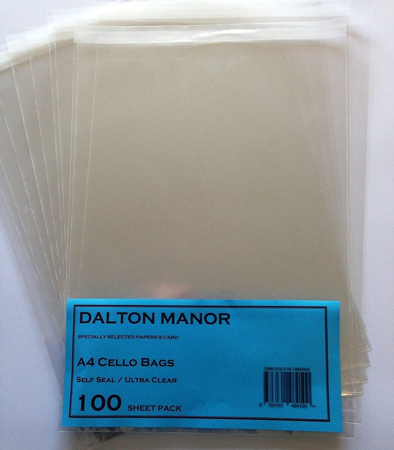 Drawings Cello C5 A5 Clear Cellophane Display Bags For Print Self Seal 500