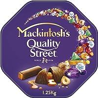 Nestle MACKINTOSH'S Quality Street Chocolate Tin 1.25kg