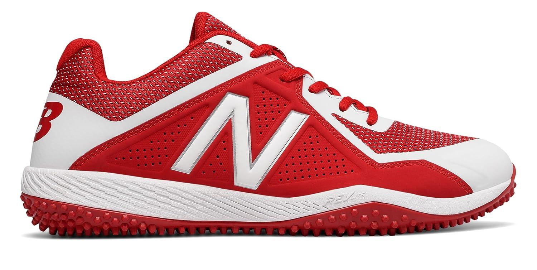 (ニューバランス) New Balance 靴シューズ メンズ野球 Turf 4040v4 Red with White レッド ホワイト US 8 (26cm) B073YMXSRJ