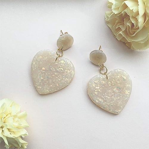 Heart Clay Earrings