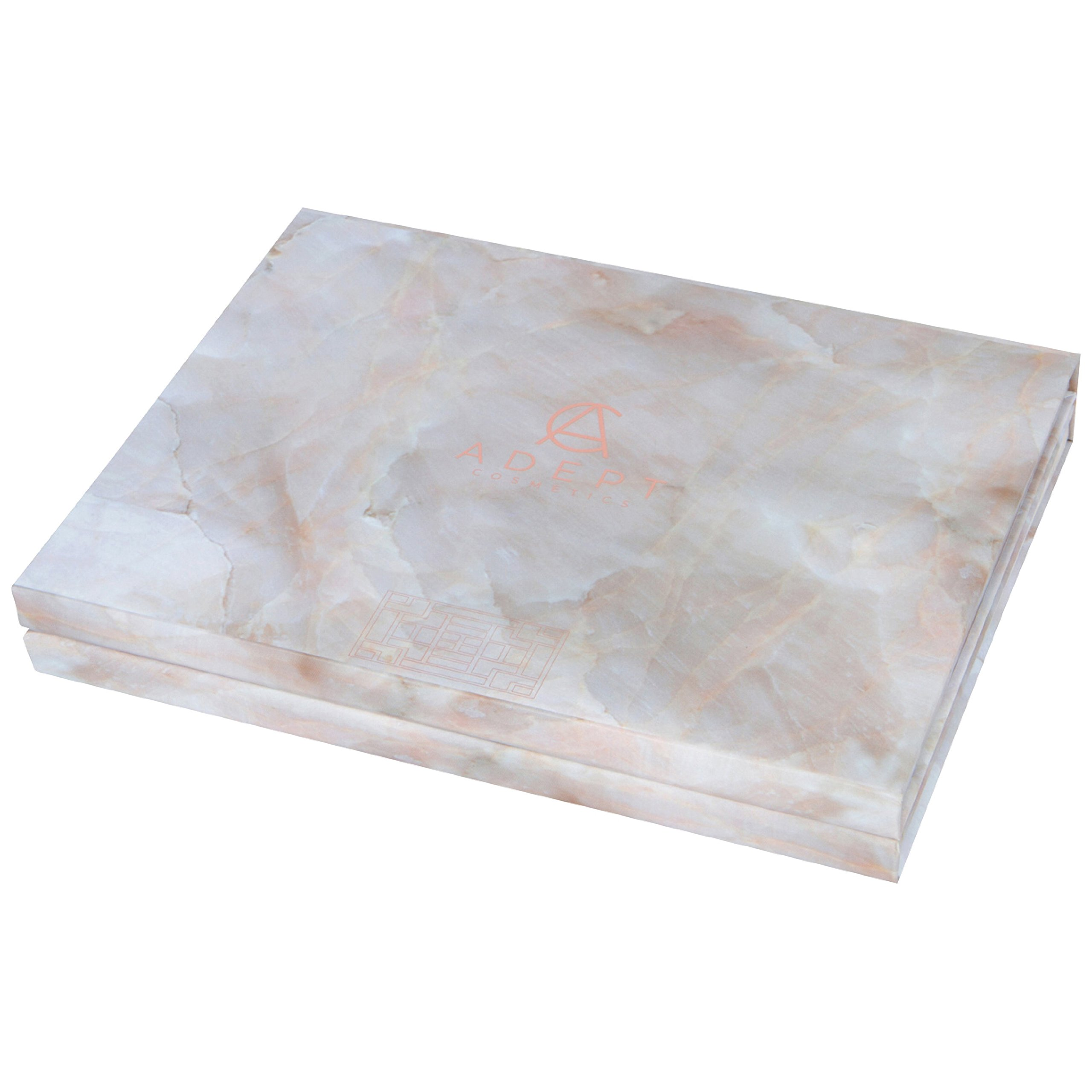 Marble Extra Large Empty Magnetic Makeup Palette Holds 70 Standard Magnetic Eyeshadows and Comes with FREE Magnetic Stickers. Depot your Highlighters, Blushes, Powders and more by Adept Cosmetics (Image #5)