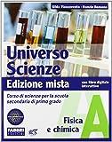 Universo scienze. Tomi A-B-C-D. Con l'apprendista scienziato e Newton. Con espansione online. Per la Scuola media. Con DVD-ROM