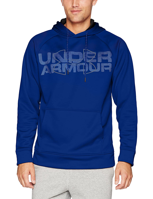 Under Armour AF Graphic Po Sudadera, Hombre, Azul, 2XL