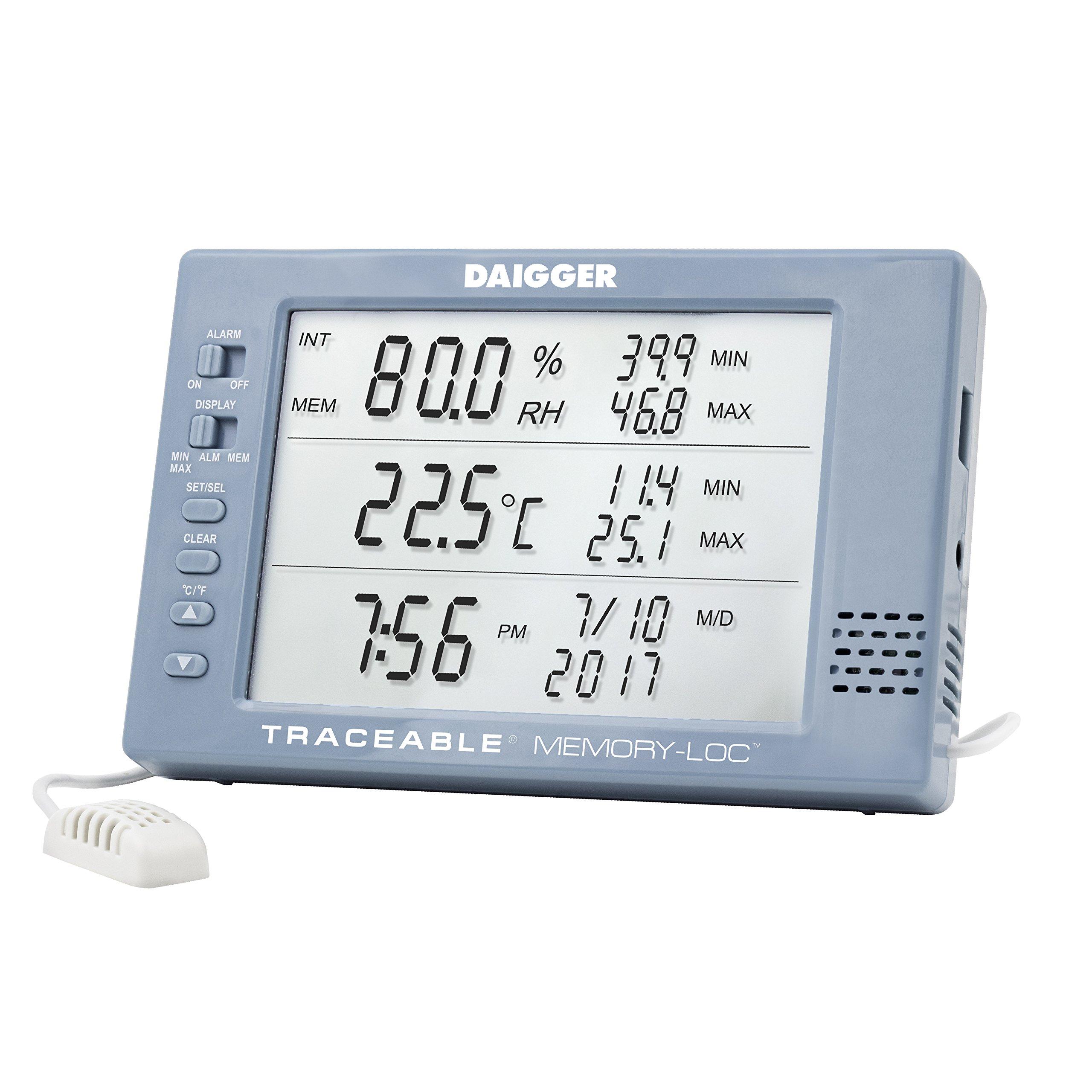 Daigger Traceable Excursion-Trac Datalogging Barometer