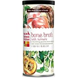 """The Honest Kitchen """"BONE BROTH"""" Beef Bone Broth with Turmeric Canister"""