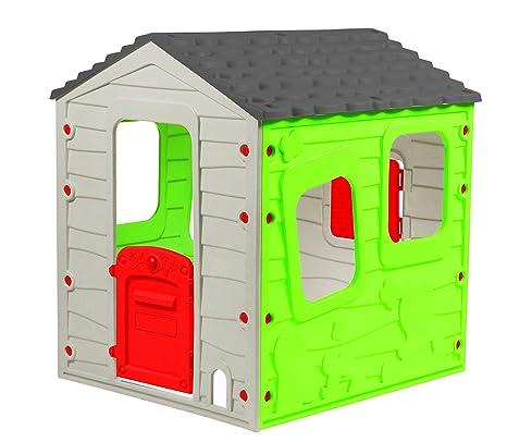 Fun Farm Casetta Per Bambini Casetta Da Giardino Dimensioni 118 X