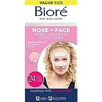 Biore Blackhead Removing and Pore Unclogging Deep Cleansing Pore Strip for Nose