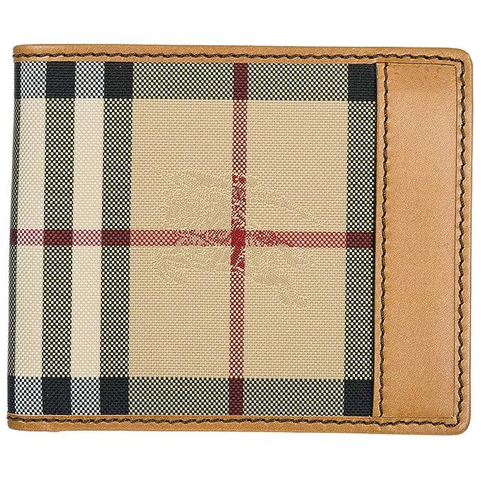 864e017f4 Burberry cartera billetera bifold de hombre en piel nuevo Ms Idbillf marrón:  Amazon.es: Ropa y accesorios