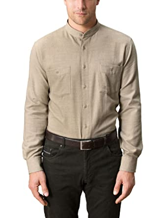 outlet store exquisite style competitive price Walbusch Herren Hemd Thermoflanell-Hemd Stehkragen Comfort ...