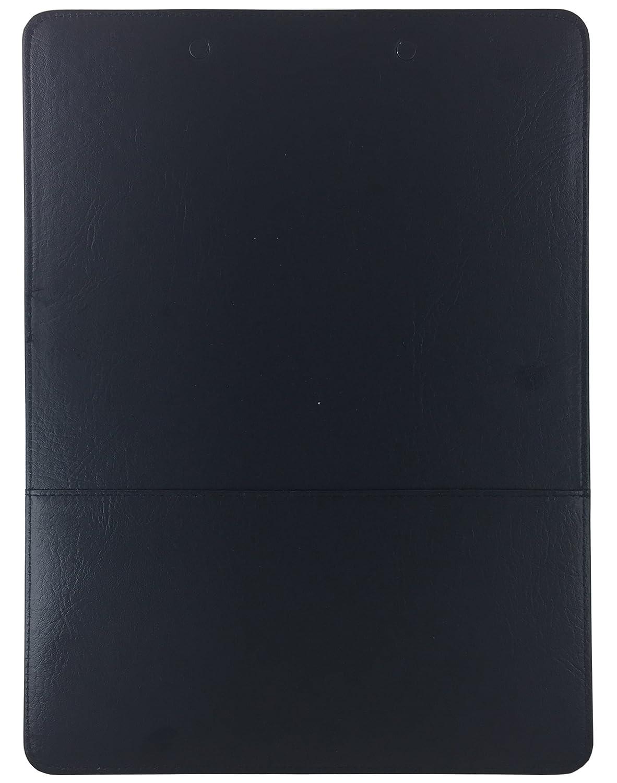 Comercio Quest portapapeles único de piel sintética (azul): Amazon.es: Oficina y papelería