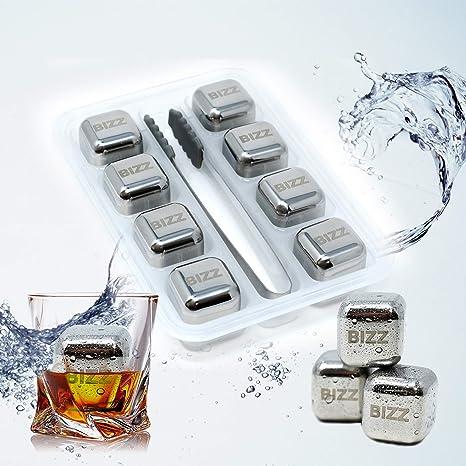 Amazon.com: Bizz - Juego de moldes de hielo (2 unidades ...