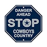 Fremont Die NFL Dallas Cowboys Stop Sign
