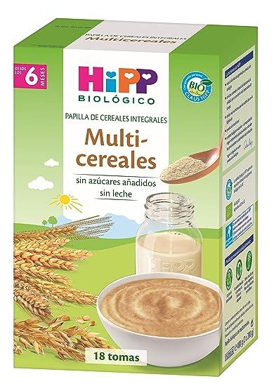 HiPP Biológico, Cereales para bebé - 4 de 400 gr. (Total 1600 gr