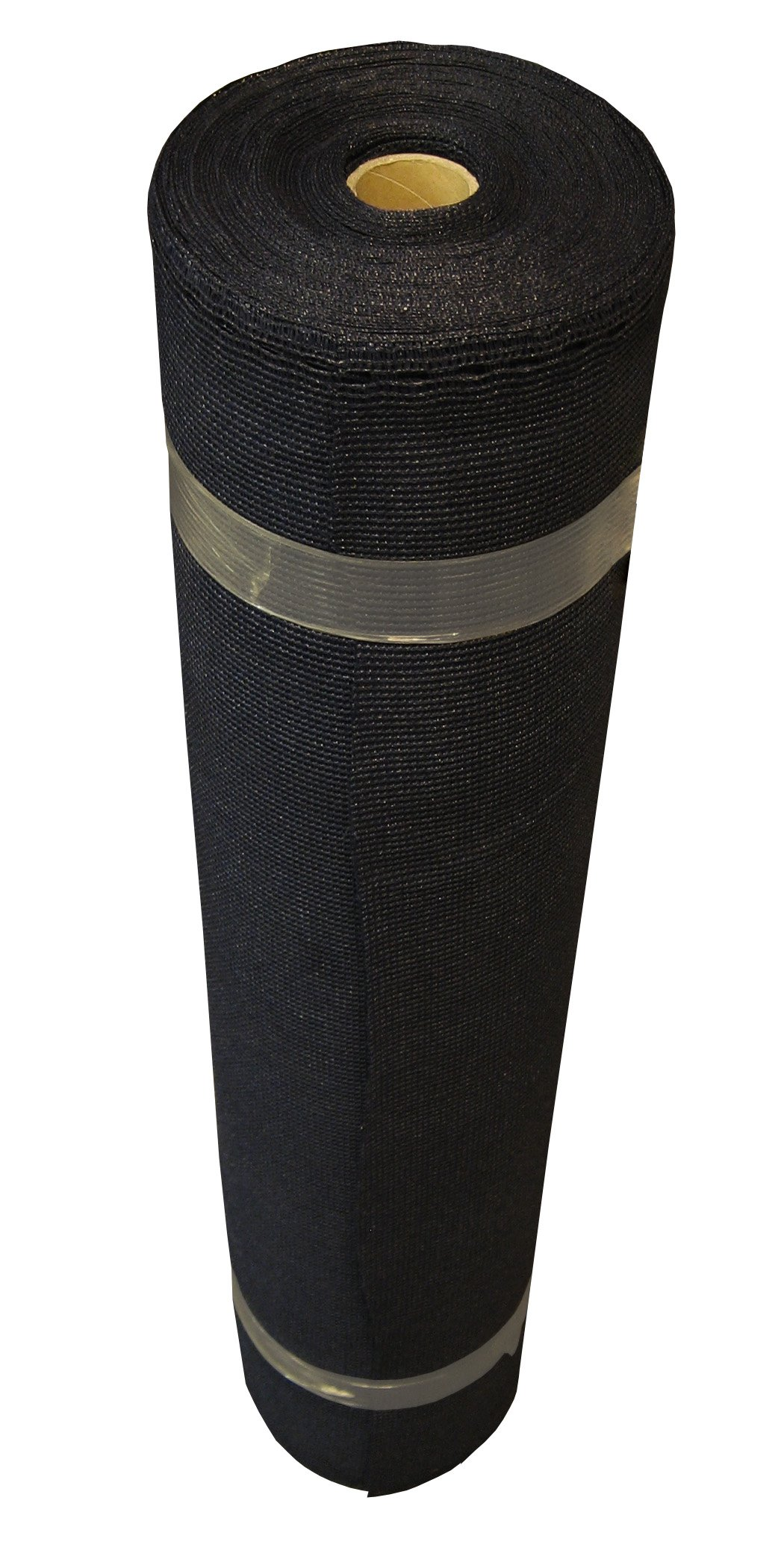 Coolaroo Shade Fabric 70% UV Coverage Outdoor or Exterior Privacy and Screening, Medium Roll (12' X 50'), Black