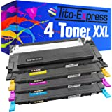 PlatinumSerie® 4 cartouches compatibles avec Samsung CLP-320 CLP-320 N CLP-320 Series CLP-325 CLP-325 N CLP-325 W CLX-3180 CLX-3185 CLX-3185 FN CLX-3185 N CLX-3185 Series CLX-3185 W