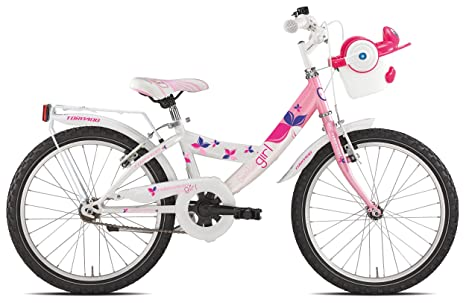 Torpado Bici Junior Simba 20 Bimba 1v Rosa Bambino Bicycle Junior Simba 20 Girl 1v Pink Kid