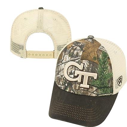 meet 9300f a3249 Amazon.com   Top of the World NCAA Georgia Bulldogs Logger Adjustable Hat,  One Size, Camo Brown Tan   Sports   Outdoors