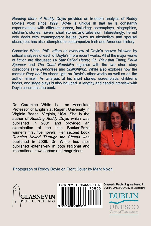 Amazon: Reading More Of Roddy Doyle (9781908689016): Caramine White:  Books
