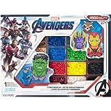 Perler Beads Marvel Avengers Pattern and Fuse Bead Kit, 4503Pc, 10 Patterns