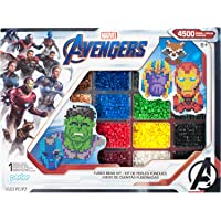Perler Beads Marvel Avengers Pattern and Fuse Bead Kit, 4503Pc, 10 Patterns