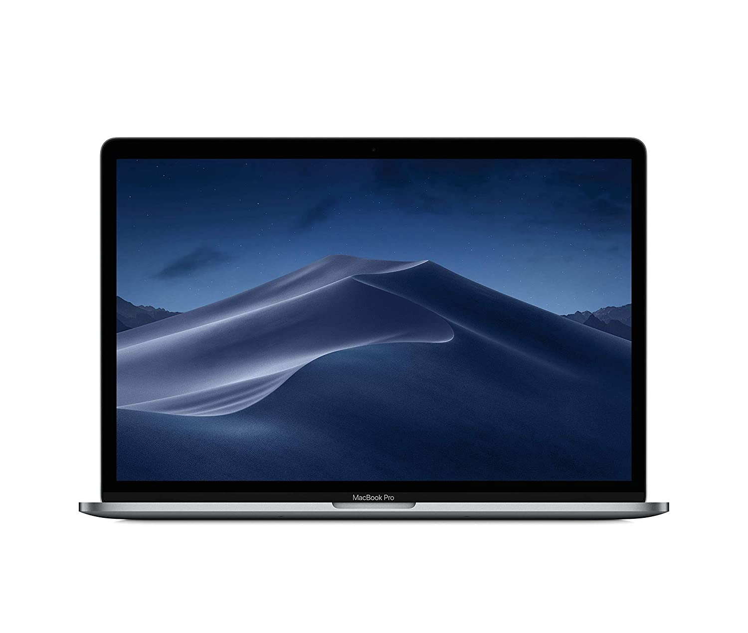 Apple MacBook Pro (15 Retina, Touch Bar, 2.2GHz 6-Core Intel Core i7, 16GB RAM, 256GB SSD) - Space Gray (Latest Model)