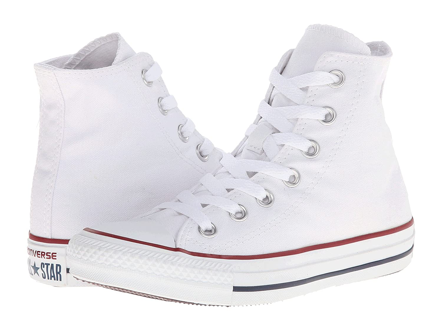 Converse Unisex Chuck Taylor all all all Star Hi-Top Trainers, Bianco 75ce74