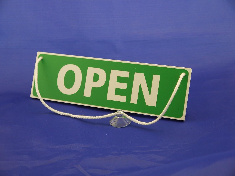 palabra OPEN por una cara y CLOSED por la otra Douglas Design Se/ñal para colgar en la puerta