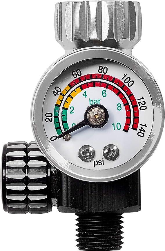 Benbow Druckminderer Mit Manometer Pk10 9 6 Bar Optimalen Luftdruck Hvlp Kompatibel Auto