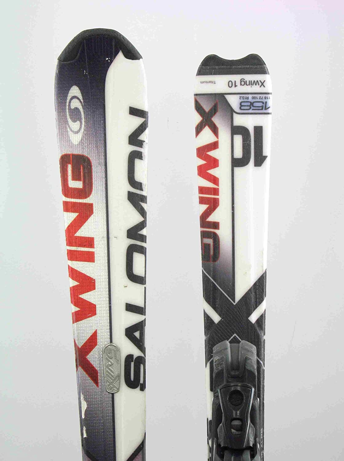 Distruttivo lutto grandinare  Used Salomon X-Wing 10 Shape Snow Ski with Binding 158cm C, Skis - Amazon  Canada