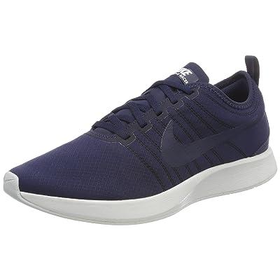 Nike Men's Dualtone Racer Se Obsidian/Obsidian-Off White Ankle-High Running Shoe -   Road Running