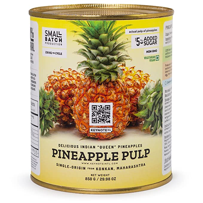Keynote Pineapple Pulp with Queen Victoria Pineapples - 850g