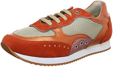 GEOX Damen Sneaker Rot