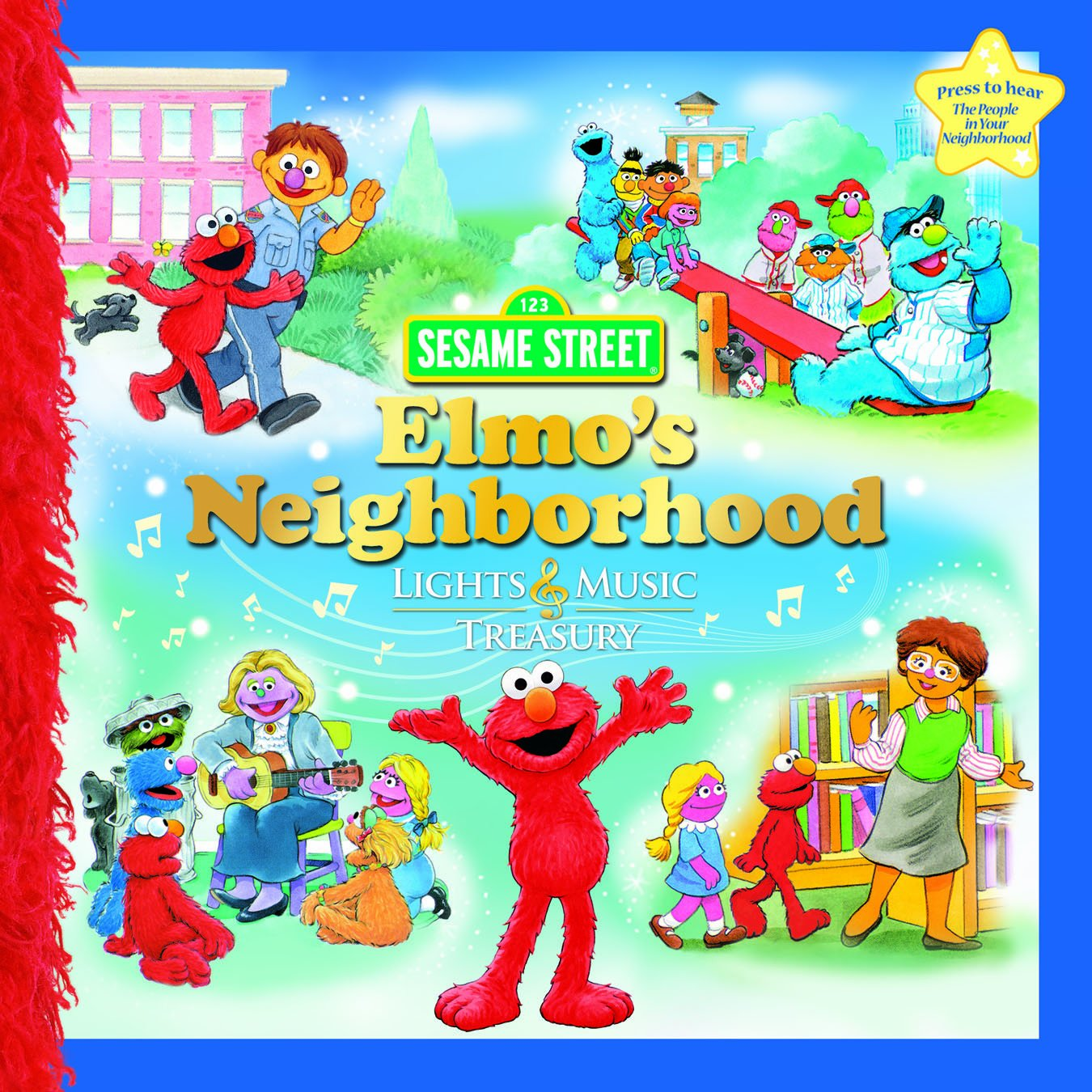Download Elmo s Neighborhood Lights & Music Treasury pdf