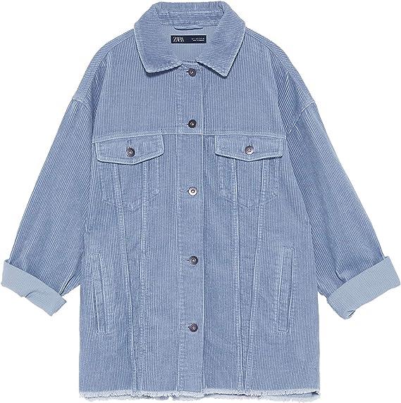 Zara 8372/222/403 - Camiseta de Tirantes para Mujer (con Bolsillos) Azul XXL: Amazon.es: Ropa y accesorios