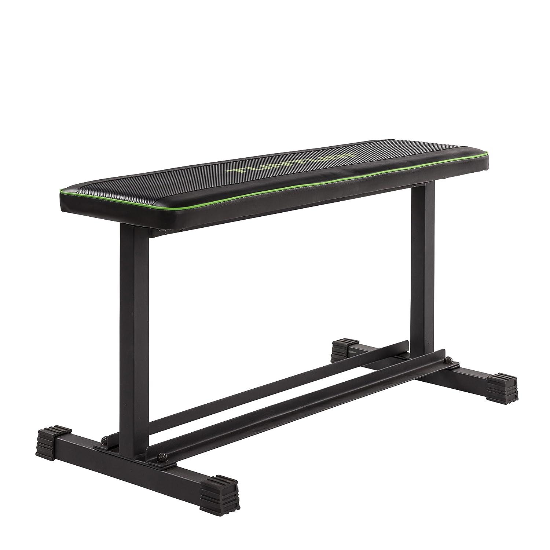 Tunturi Flat Bench Banco Plano FB20, Unisex Adulto, Negro, 1 ...