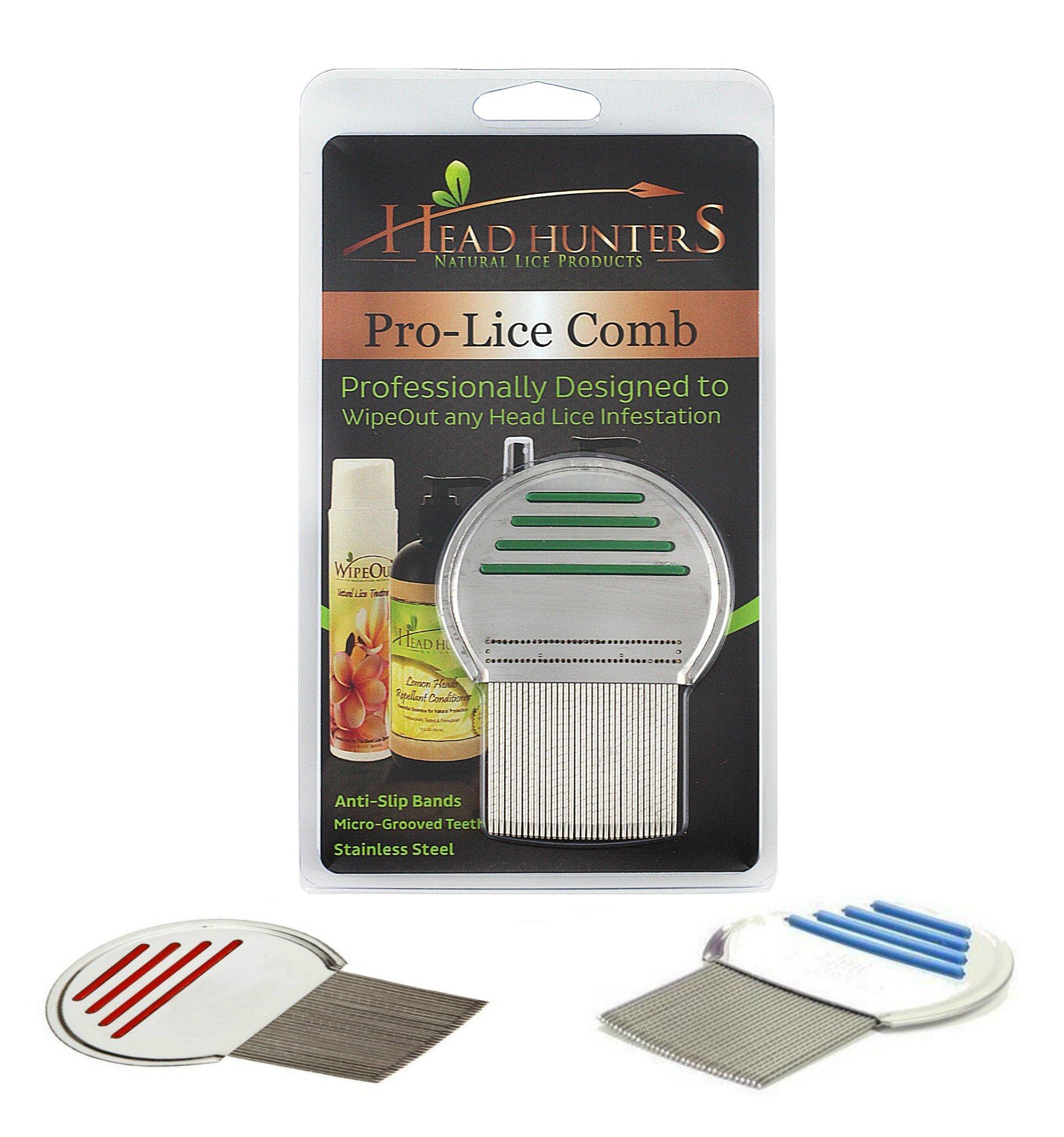 The Best Lice Comb Head Hunters Naturals Pro-Lice Treatment Comb