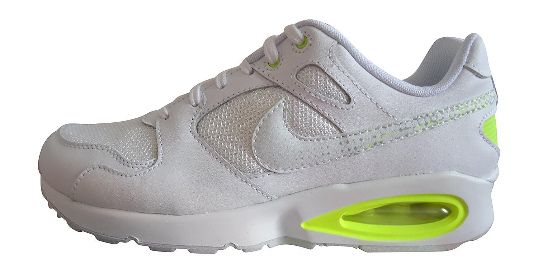 Nike AIR MAX COLISEUM Weiss Gelb Damen Turnschuhe Schuhe Neu