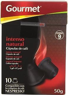 Gourmet Capsulas de Café Intenso Natural - 10 Unidades