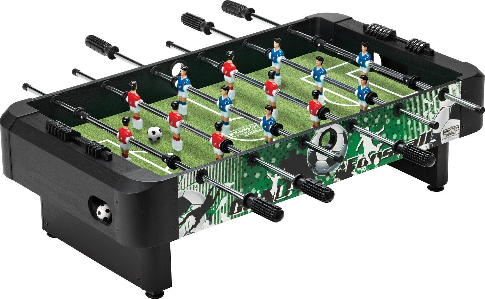 Mainstreet Classics 36-Inch Table Top Foosball/Soccer Game by Mainstreet Classics by GLD Products (Image #1)