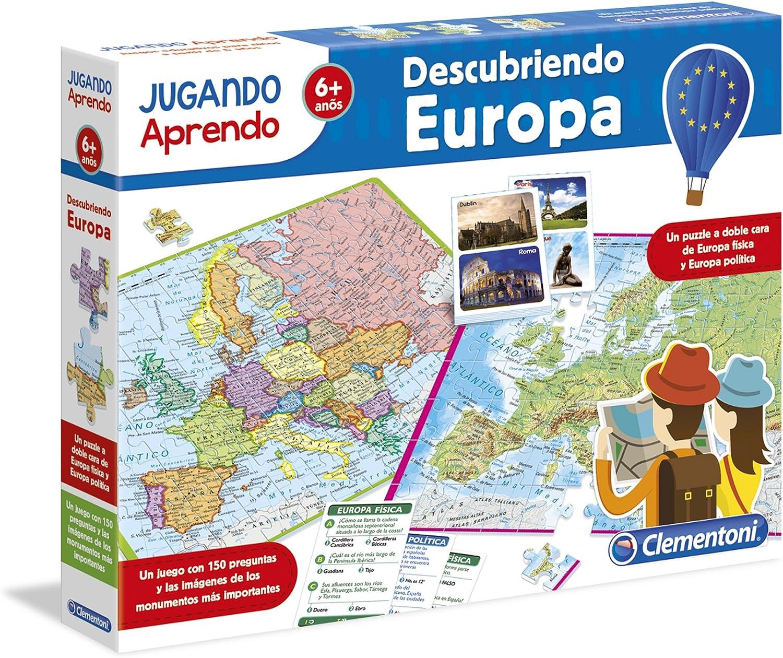 Clementoni - Jugando aprendo, descubre Europa (55120.0): Amazon.es ...