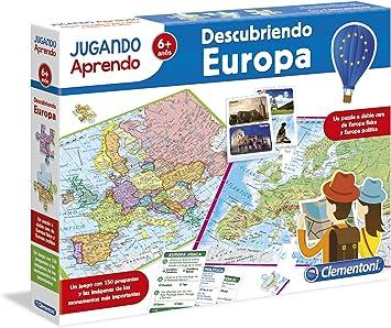 Clementoni - Jugando aprendo, descubre Europa (55120.0 ...