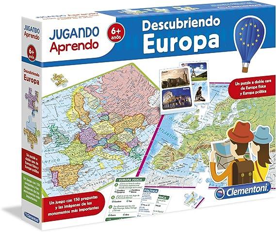 Clementoni - Jugando aprendo, descubre Europa (55120.0): Amazon.es: Juguetes y juegos