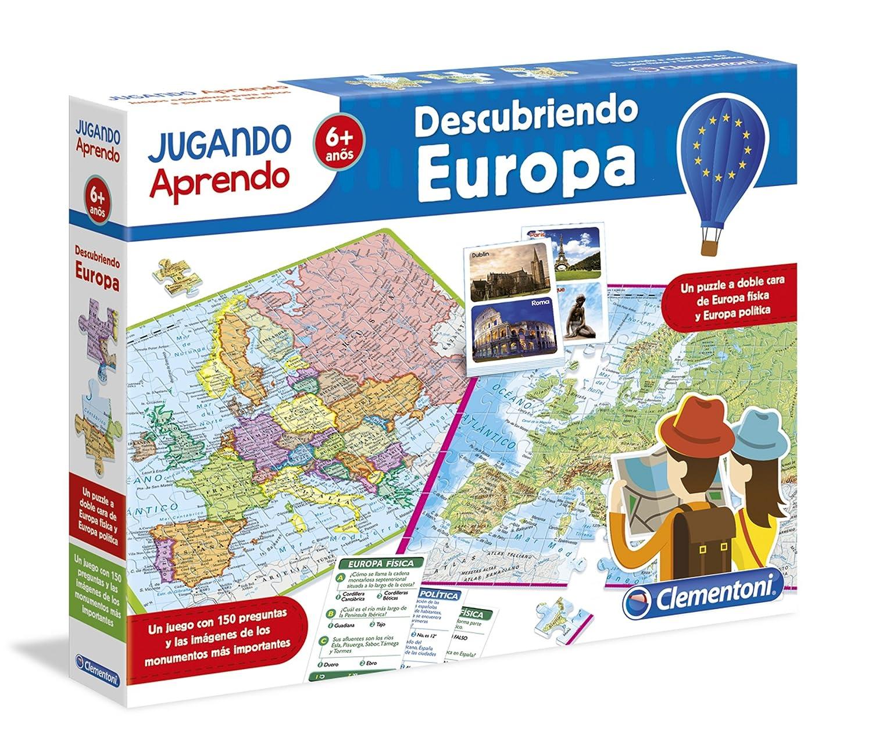 Clementoni jugando aprendo descubre europa 551200 amazon clementoni jugando aprendo descubre europa 551200 amazon juguetes y juegos gumiabroncs Image collections