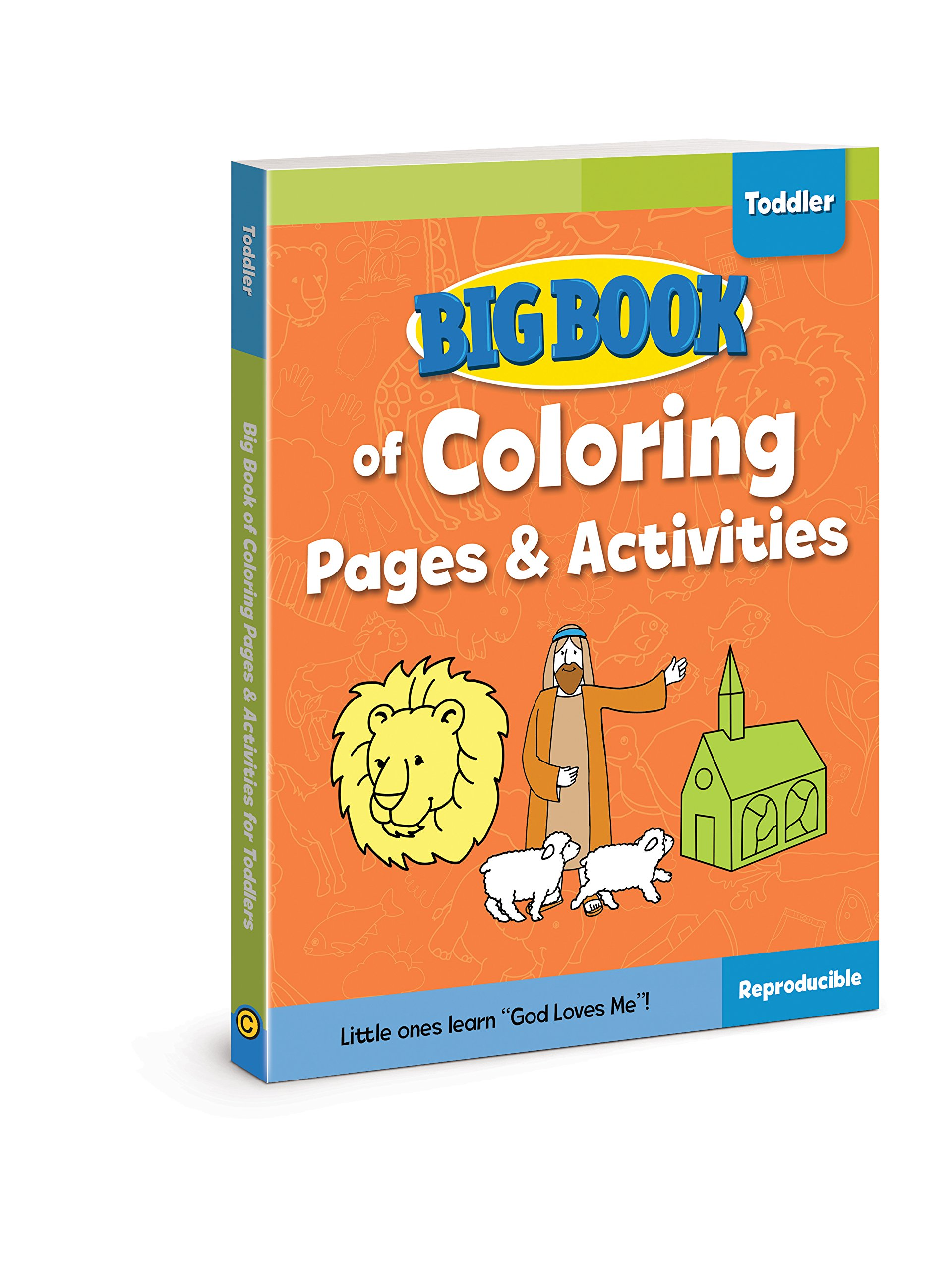 Big Book of Coloring Pages and Activities for Toddlers (Big ...