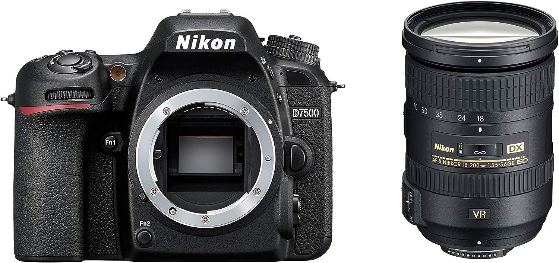 Nikon D7500 + AF-S DX 18-200 VRII Juego de cámara SLR 20,9 MP CMOS ...
