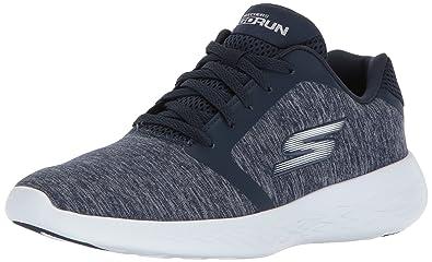 Skechers Women Go Run 600 - Divert Fitness Shoes Blue (Navy) 3 UK 36