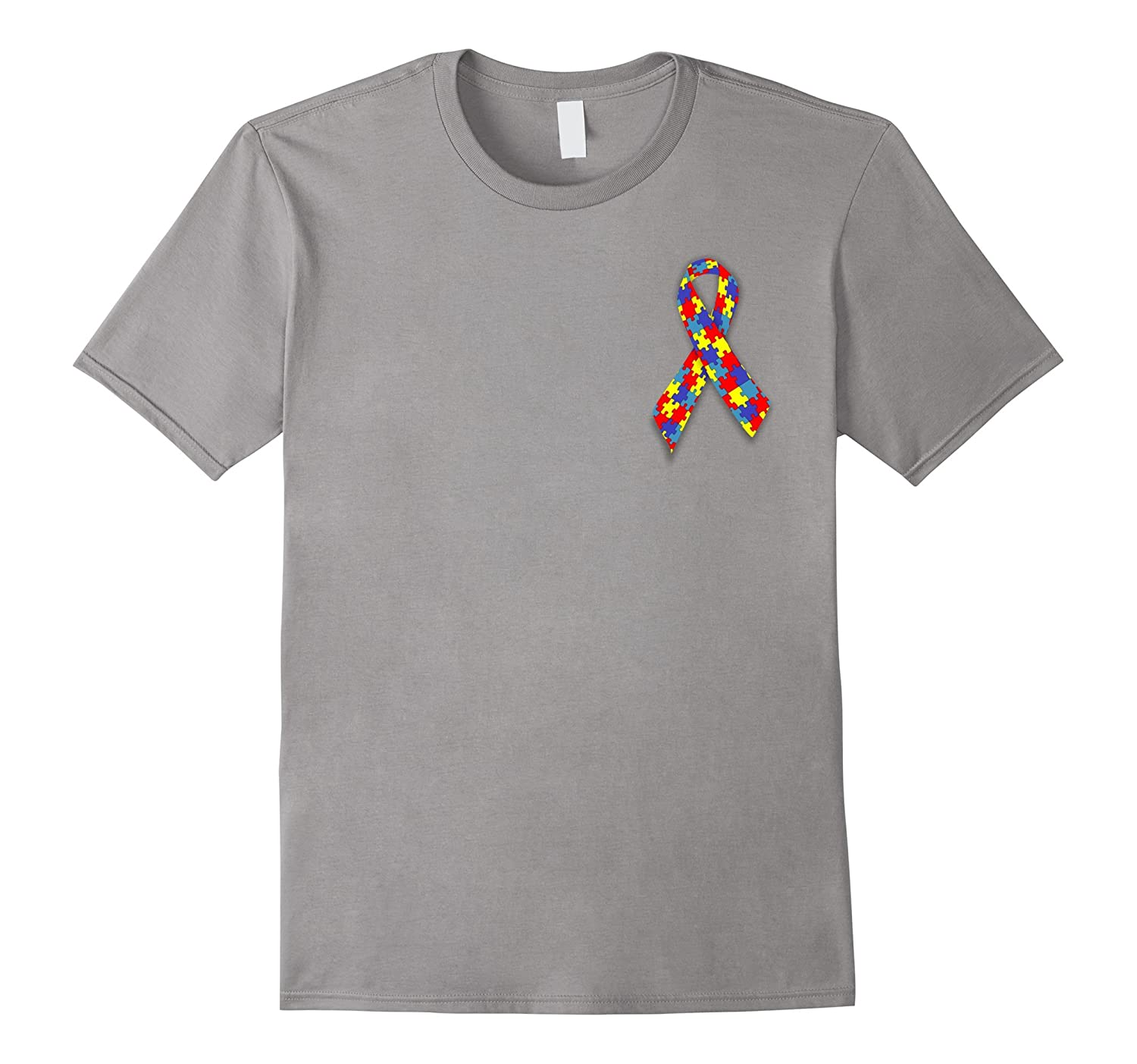 T-Shirts Autism Awareness Month is April Tops Tees Clothing-TH
