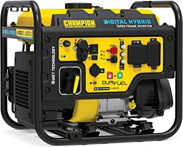 Champion Power Equipment 100574 Generator, Yellow