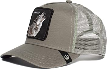 Mens  Lone Wolf  Wolf Trucker Snapback Trucker Baseball Hat 725f06408f4